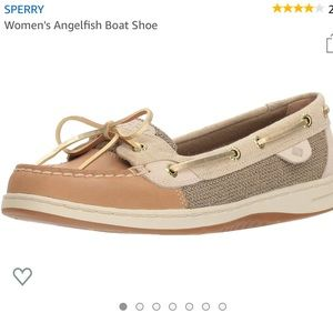 NWOT Sperry Angelfish Boat Shoes size 8